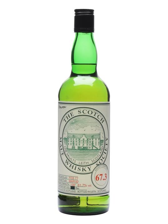 Smws 67.3 / 1977 / Bot.1992 Speyside Single Malt Scotch Whisky