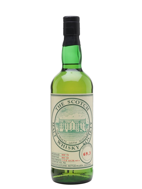 Smws 69.3 / 1978 / Bot.1994 Highland Single Malt Scotch Whisky