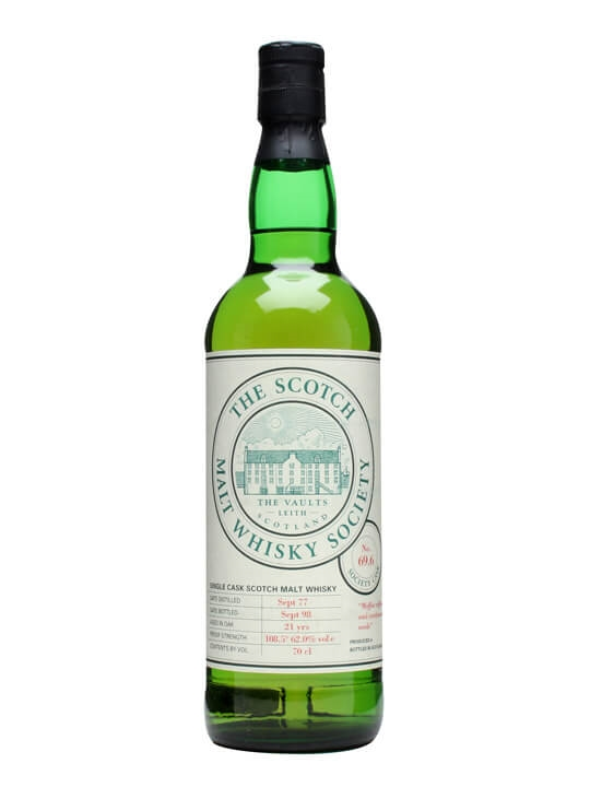 Smws 69.6 / 21 Year Old / Moffat Toffees And Cardamon Seeds Highland Whisky