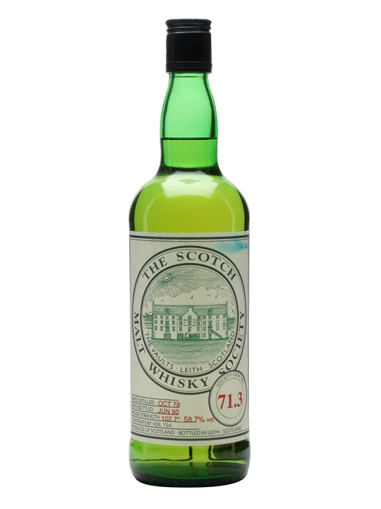 Smws 71.3 / 1978 / Bot.1990 Speyside Single Malt Scotch Whisky