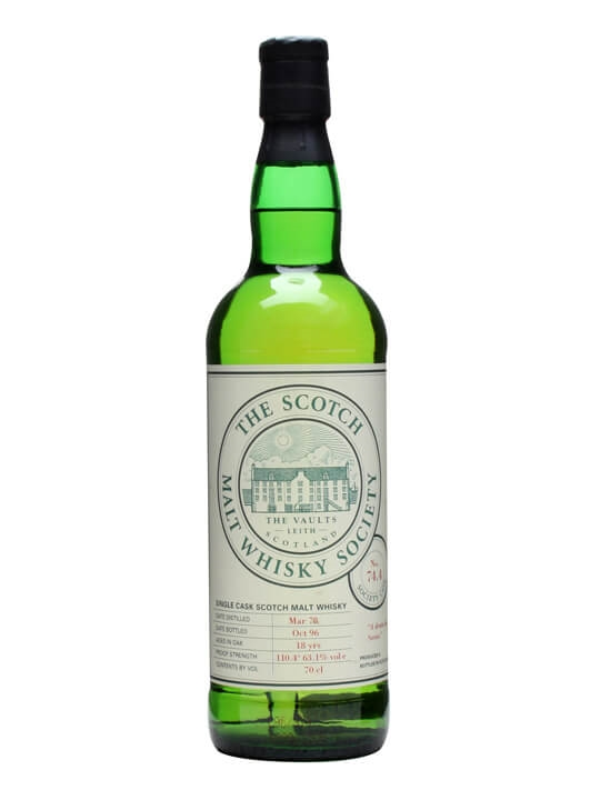 Smws 74.4 / 1978 / 18 Year Old Highland Sinlge Malt Scotch Whisky