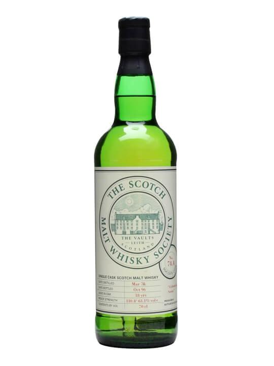 Smws 74.4 / 1978 / 18 Year Old Highland Sinlge Malt Scotch Whisky