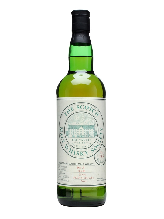 Smws 74.5 / 1976 / 23 Year Old / Oily Hands And Steam Trains Highland Whisky