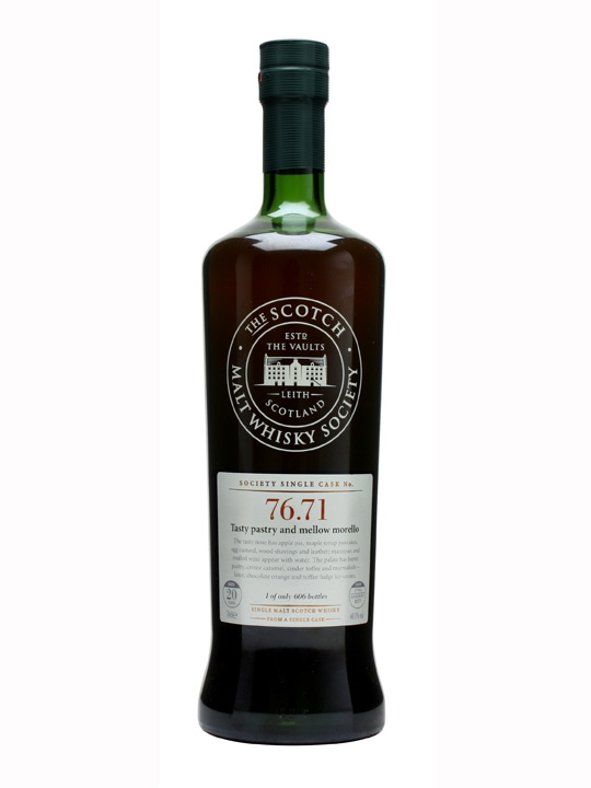 Smws 76.71 / 20 Year Old Speyside Single Malt Scotch Whisky