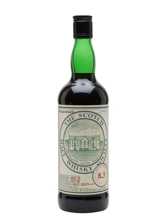 Smws 8.3 / 1976 / Bot.1988 Speyside Single Malt Scotch Whisky