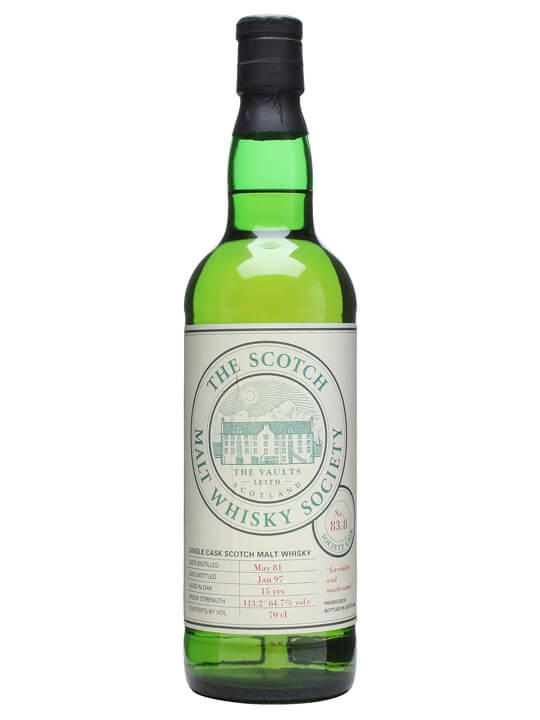 Smws 83.8 / 1981 / 15 Year Old Speyside Single Malt Scotch Whisky