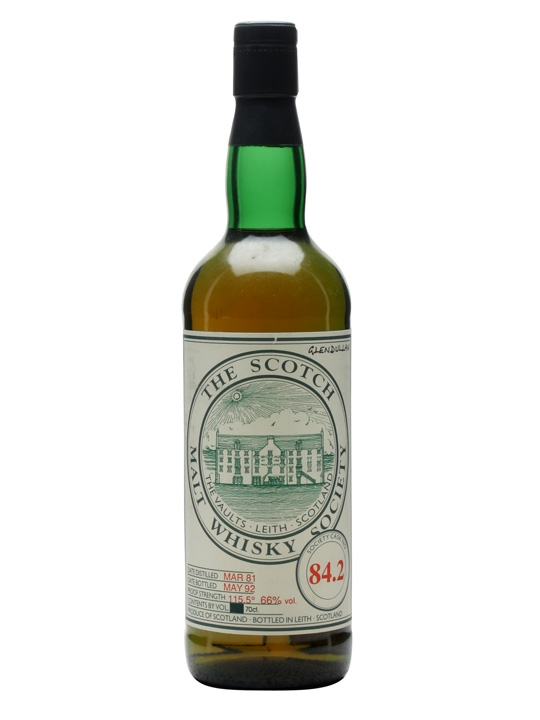 Smws 84.2 / 1981 / Bot.1992 Speyside Single Malt Scotch Whisky