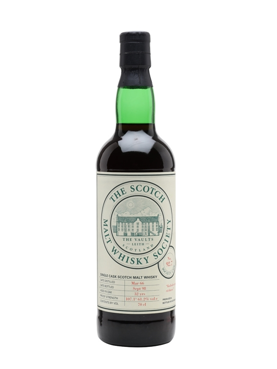 Smws 92.7 / 1966 / 32 Year Old / Sherry Cask Highland Whisky