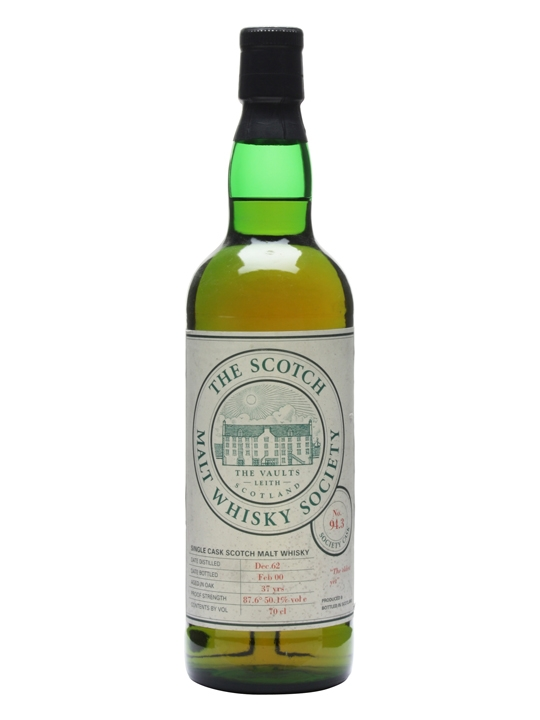 Smws 94.3 / 1962 / 37 Year Old Highland Single Malt Scotch Whisky
