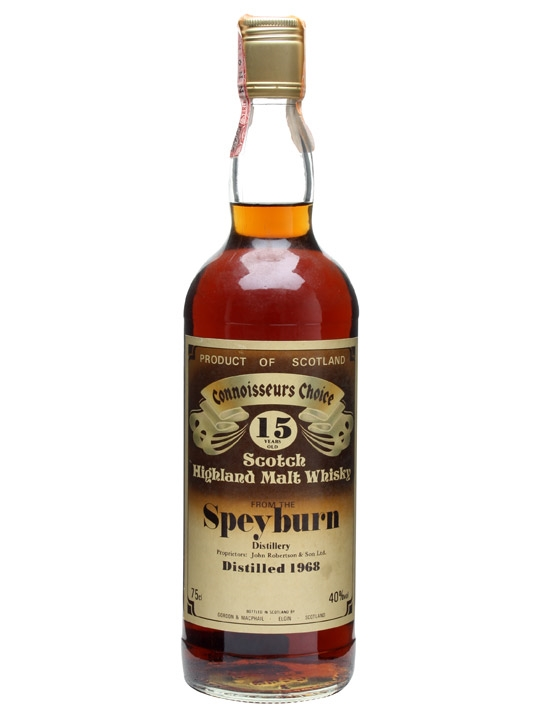 Speyburn 1968 / 15 Year Old Speyside Single Malt Whisky