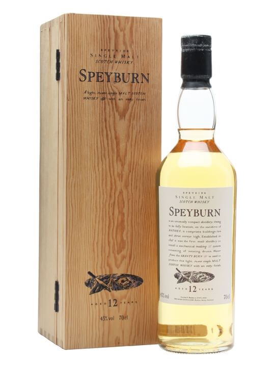 Speyburn 12 Year Old Speyside Single Malt Scotch Whisky