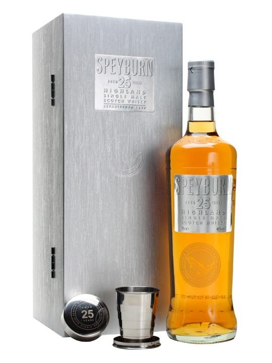 Speyburn 25 Year Old / New Presentation Speyside Whisky