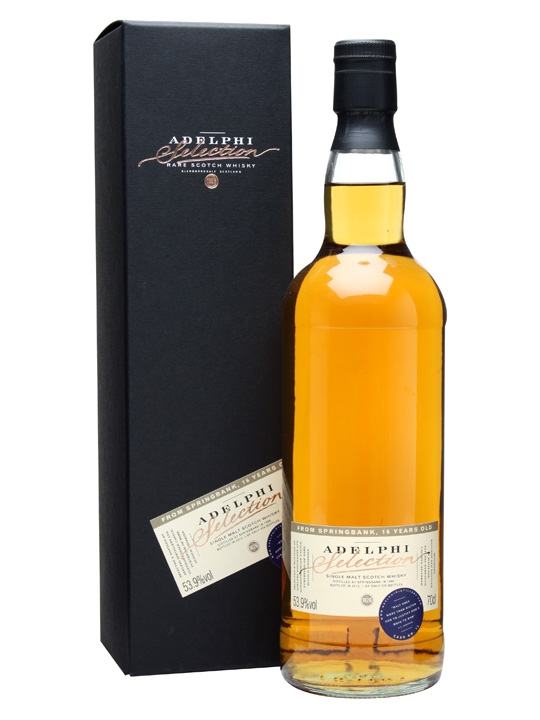 Springbank 1996 / 16 Year Old / Cask #72 Campbeltown Whisky