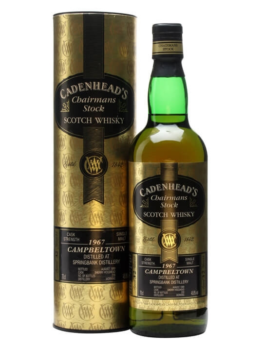 Springbank 1967 / 32 Year Old Campbeltown Single Malt Scotch Whisky