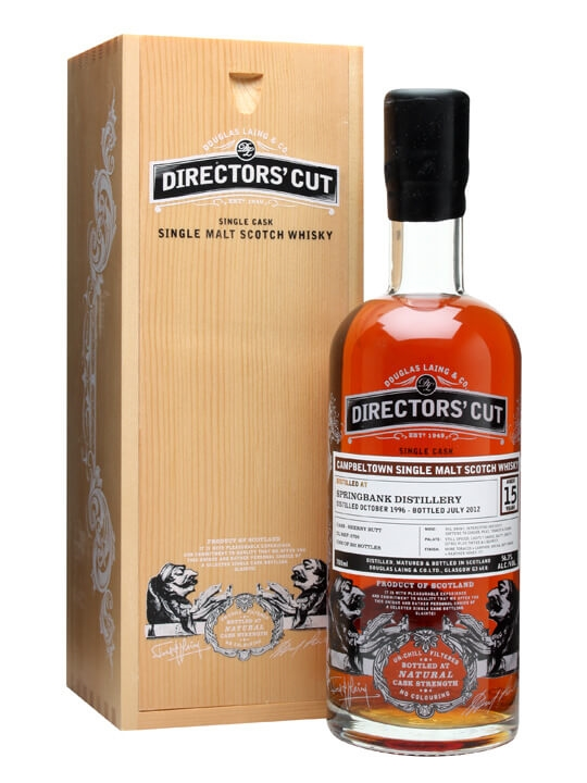 Springbank 1996 / 15 Year Old / Directors' Cut Campbeltown Whisky