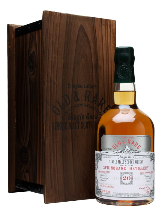 Springbank 1991 / 20 Year Old / Platinum Selection Campbeltown Whisky