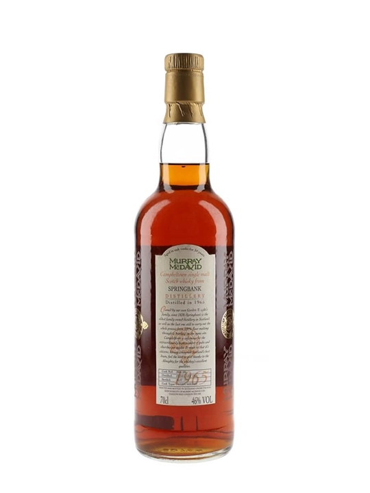 Springbank 1965 / Sherry Cask Campbeltown Single Malt Scotch Whisky