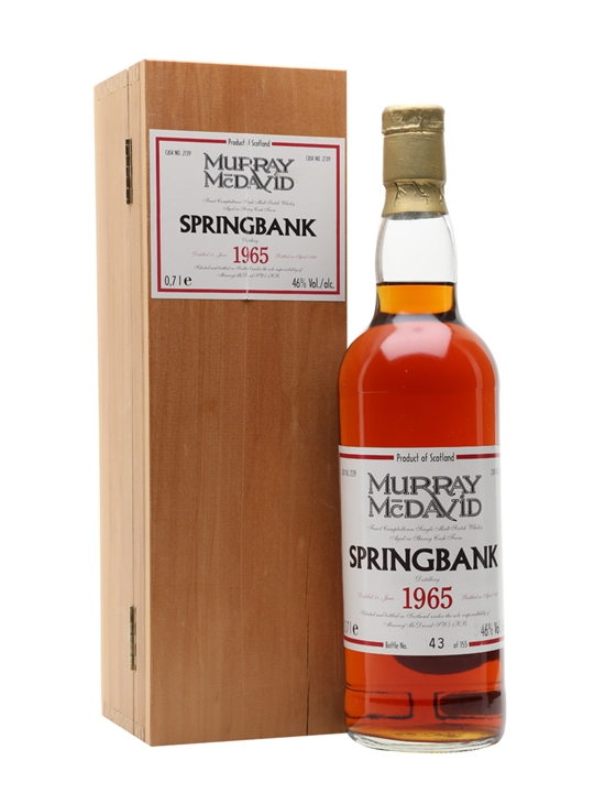 Springbank 1965 / Sherry Cask #2139 Campbeltown Whisky