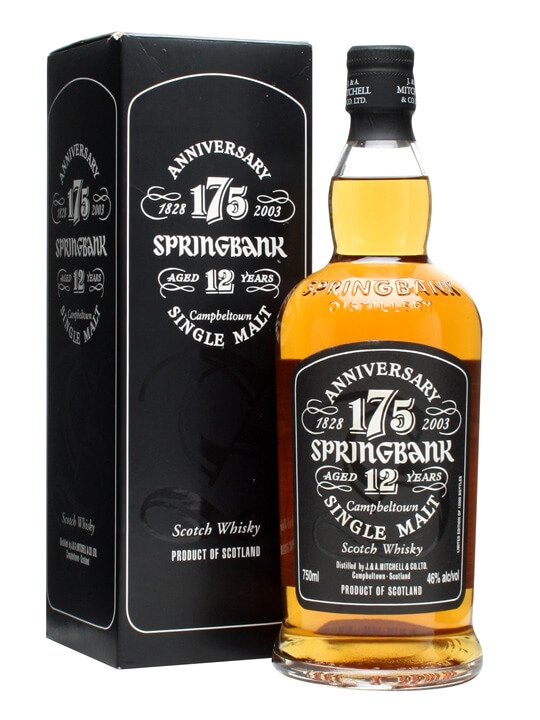 Springbank 175th Anniversary / 12 Year Old Campbeltown Whisky