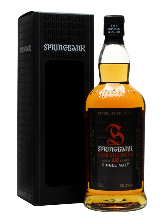 Springbank 12 Year Old Cask Strength / Batch 7 Campbeltown Whisky