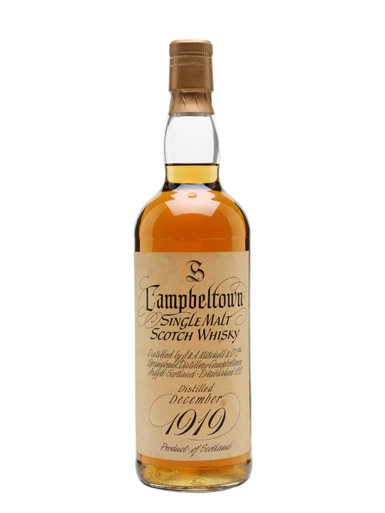 Springbank 1919 / 50 Year Old Campbeltown Single Malt Scotch Whisky