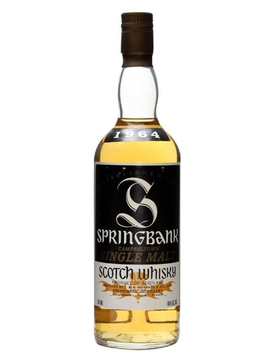 Springbank 1964 Campbeltown Single Malt Scotch Whisky