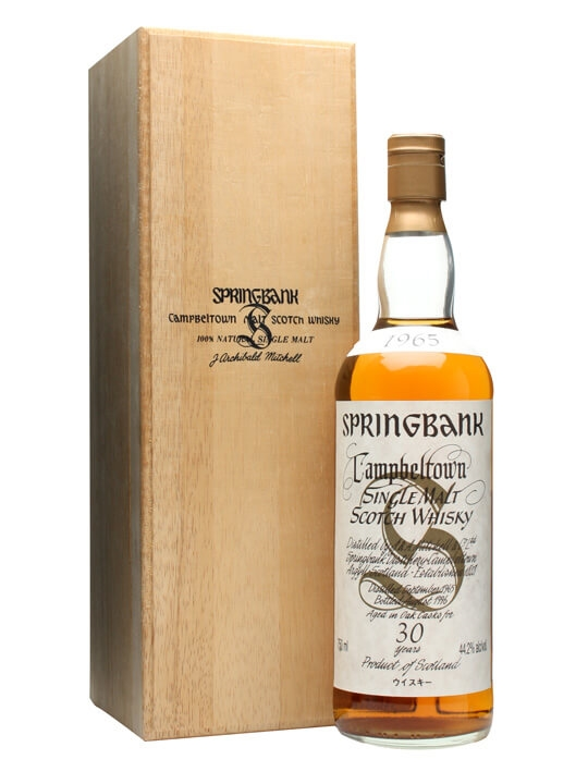 Springbank 1965 / 30 Year Old Campbeltown Single Malt Scotch Whisky