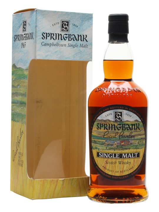 Springbank 1965 / 36 Year Old / Local Barley Campbeltown Whisky