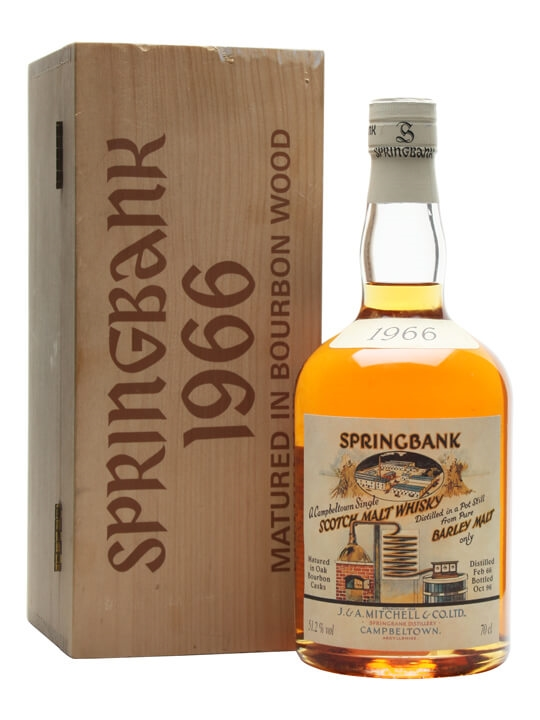 Springbank 1966 / Local Barley / Cask# 474 Campbeltown Whisky