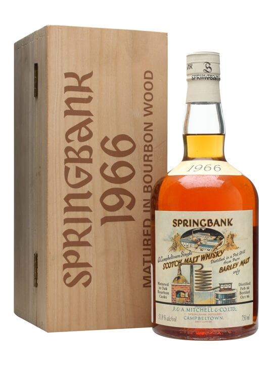 Springbank 1966 / Local Barley / Cask #472 Campbeltown Whisky