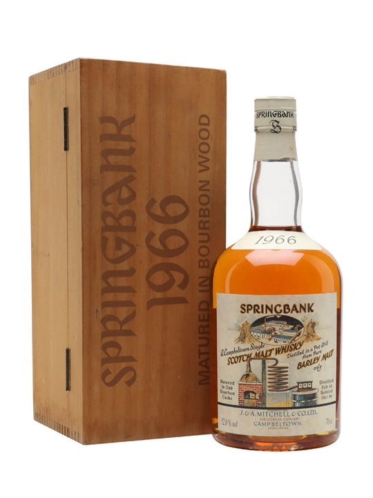 Springbank 1966 / Local Barley / Cask #475 Campbeltown Whisky