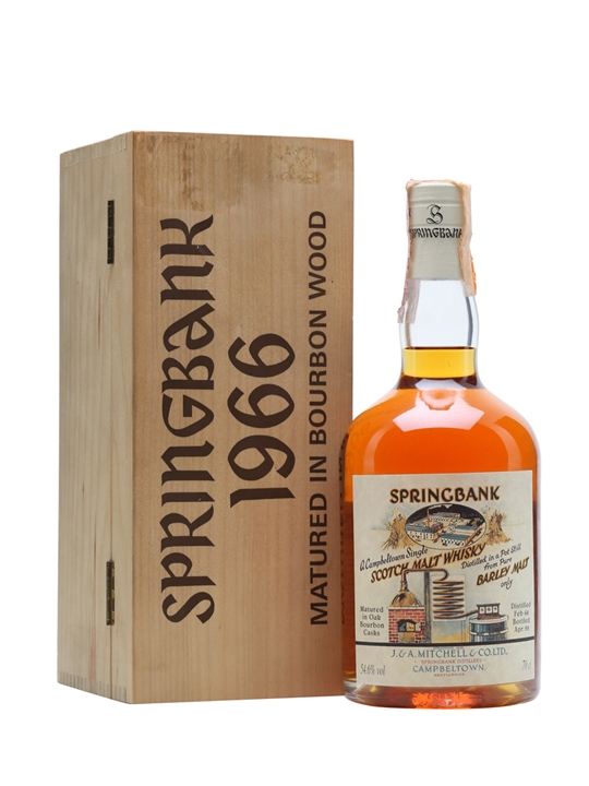 Springbank 1966 / Local Barley / Cask #495 Campbeltown Whisky