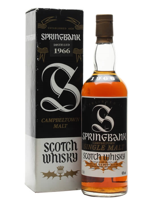 Springbank 1966 Campbeltown Single Malt Scotch Whisky