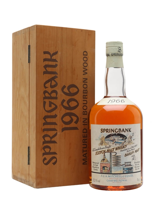 Springbank 1966  Local Barley  Cask 473 Campbeltown Whisky