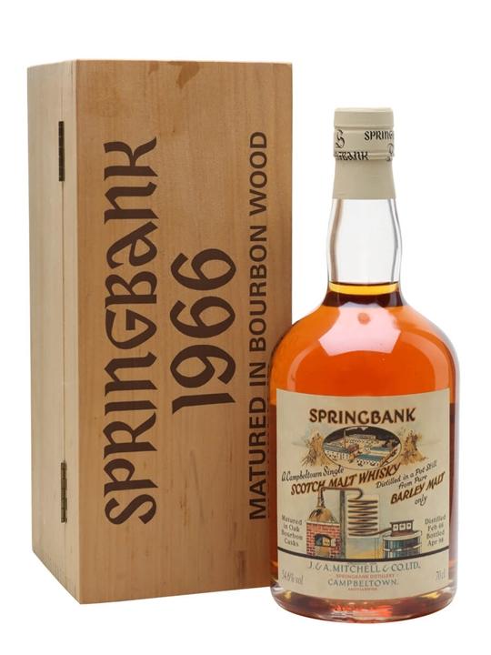 Springbank 1966 / Local Barley / Cask# 473 Campbeltown Whisky