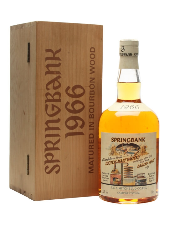 Springbank 1966 / Local Barley / Cask #476 Campbeltown Whisky