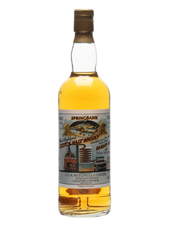 Springbank 1970 / 23 Year Old / Cask 1766 Campbeltown Whisky