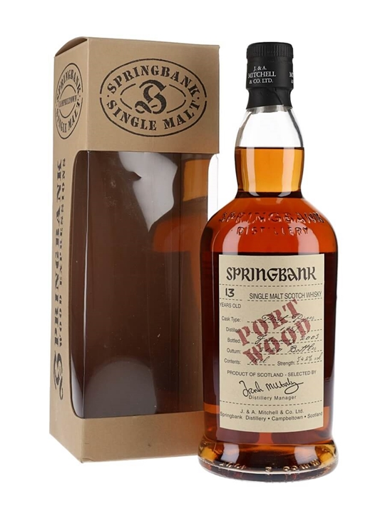 Springbank 1989 / 13 Year Old / Port Wood Campbeltown Whisky