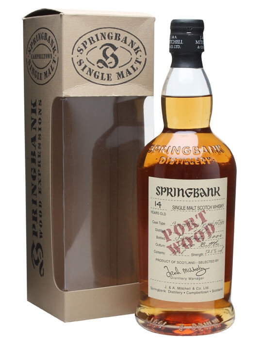 Springbank 1989 / 14 Year Old / Port Wood Campbeltown Whisky