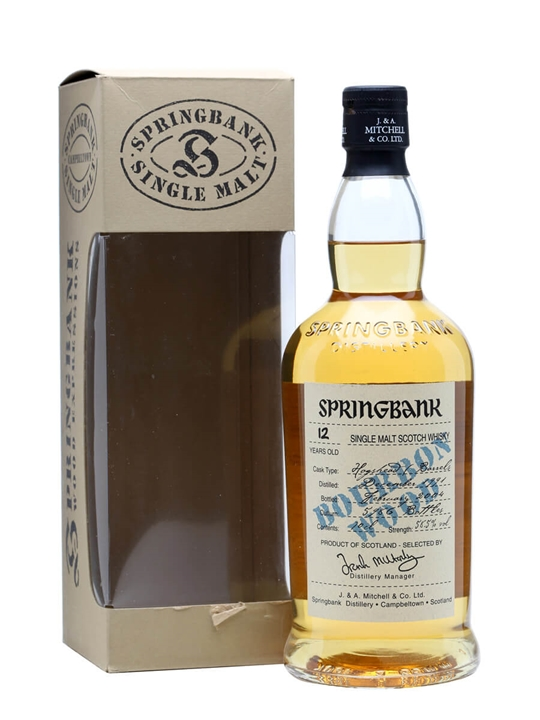 Springbank 1991 / 12 Year Old / Bourbon Wood Campbeltown Whisky