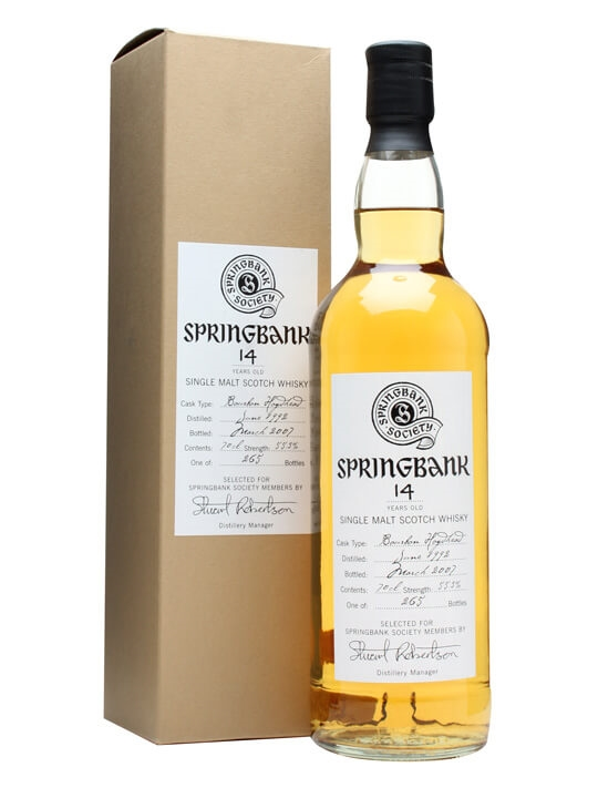 Springbank 1992 / 14 Year Old / Bourbon Cask Campbeltown Whisky
