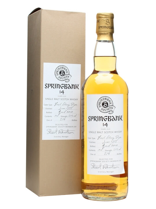 Springbank 1995 / 14 Year Old / Fresh Sherry Pipe Campbeltown Whisky