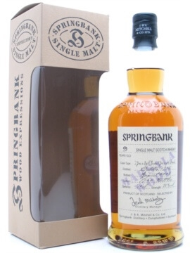 Springbank 1996 / 9 Year Old / Marsala Wood Campbeltown Whisky