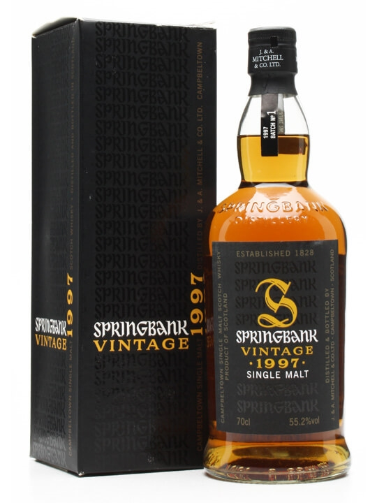 Springbank 1997 / 1st Batch Campbeltown Single Malt Scotch Whisky