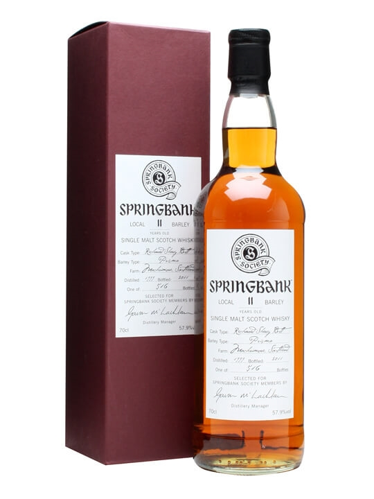 Springbank 1999 / 11 Year Old / Local Barley Campbeltown Whisky