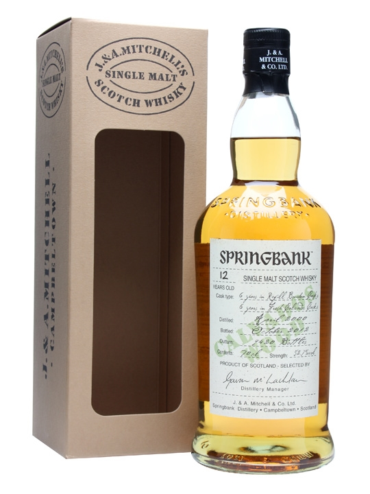 Springbank 2000 / 12 Years Old / Calvados Wood Campbeltown Whisky