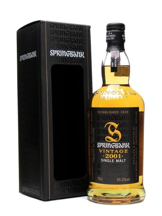 Springbank 2001 / 1st Batch / Ob Campbeltown Single Malt Scotch Whisky
