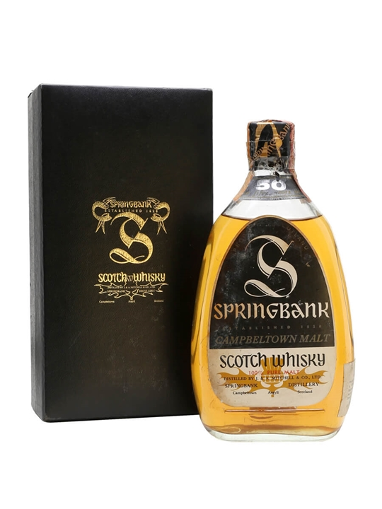 Springbank 50 Year Old Campbeltown Single Malt Scotch Whisky