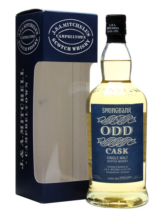 Springbank Odd / Fresh Rum Cask #1999/12/377 Campbeltown Whisky