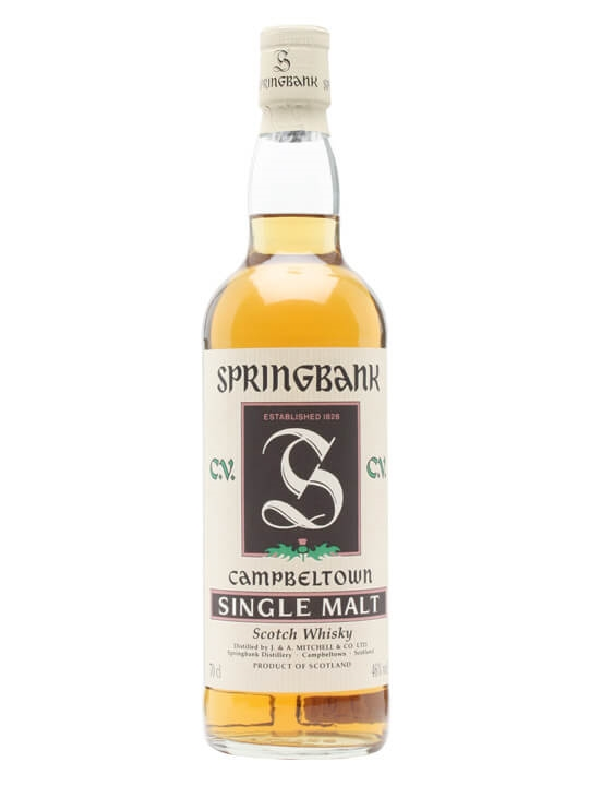 Springbank Cv / Bot. 1990's Campbeltown Single Malt Scotch Whisky